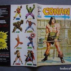 Cómics: CONAN V 2. Nº 1. EDICIONES VÉRTICE AGOSTO 1974. MUY BUEN ESTADO.. Lote 104521887