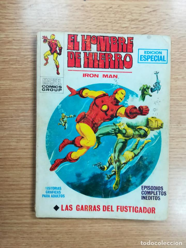 HOMBRE DE HIERRO #19 LAS GARRAS DEL FUSTIGADOR (VERTICE) (Tebeos y Comics - Vértice - Hombre de Hierro)