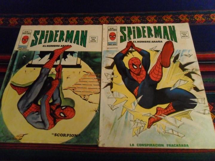 Cómics: VÉRTICE VOL. 2 SPIDERMAN NºS 1 2 3 4 5 6 7 8 9 10. COMPLETA. 30 PTS. AÑO 1974. MUY DIFÍCIL!!!!! - Foto 9 - 117127592