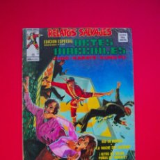 Cómics: RELATOS SALVAJES ARTES MARCIALES VOL. 1 Nº 4 - VERTICE 1974. Lote 104641939