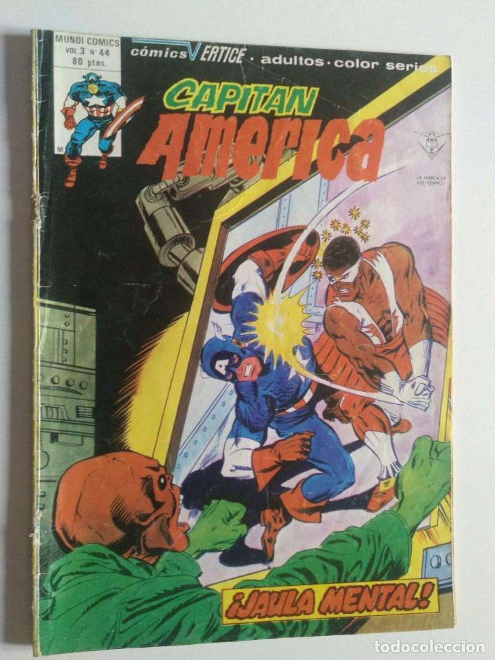 CAPITÁN AMÉRICA VOL 3 NÚMERO 44 VERTICE - SURCO - MUNDI-COMICS (Tebeos y Comics - Vértice - Super Héroes)