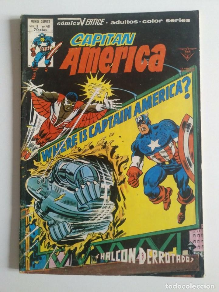 CAPITÁN AMÉRICA VOL 3 NÚMERO 40 VERTICE - SURCO - MUNDI-COMICS (Tebeos y Comics - Vértice - Capitán América)