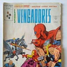 Cómics: LOS VENGADORES VOL. 2 Nº 49 VERTICE - SURCO - MUNDI-COMICS. Lote 104702371