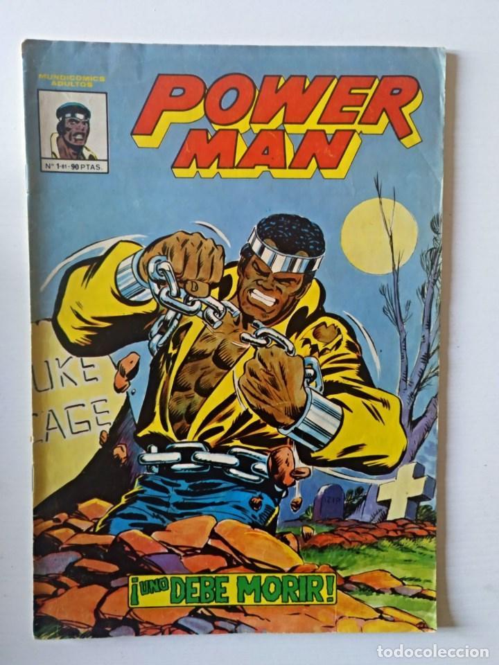 POWER MAN Nº 1 VERTICE - SURCO - MUNDI-COMICS (Tebeos y Comics - Vértice - Super Héroes)