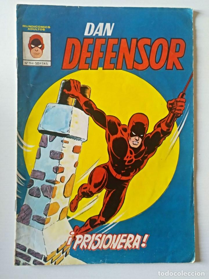 DAN DEFENSOR Nº 1 VERTICE - SURCO - MUNDI-COMICS (Tebeos y Comics - Vértice - Dan Defensor)