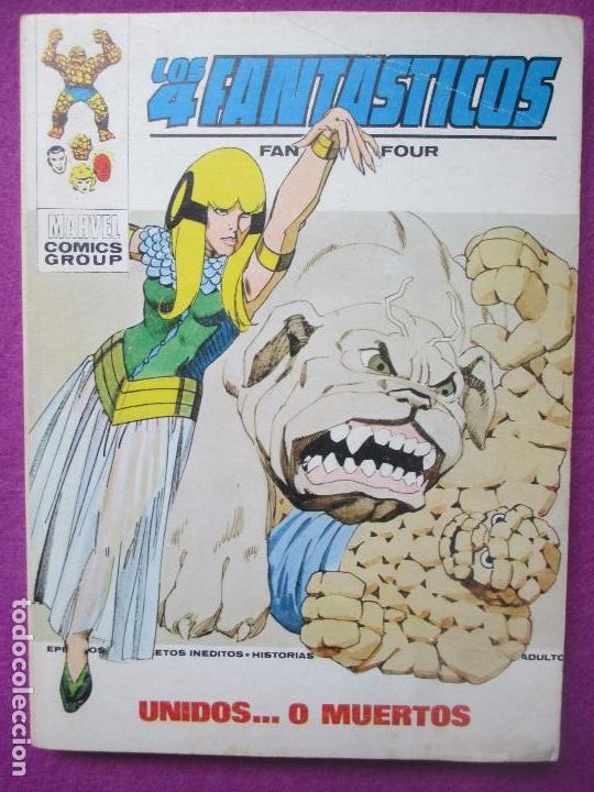 TEBEO LOS 4 FANTASTICOS, Nº59, UNIDOS.. O MUERTOS, 1973, VERTICE (Tebeos y Comics - Vértice - 4 Fantásticos)