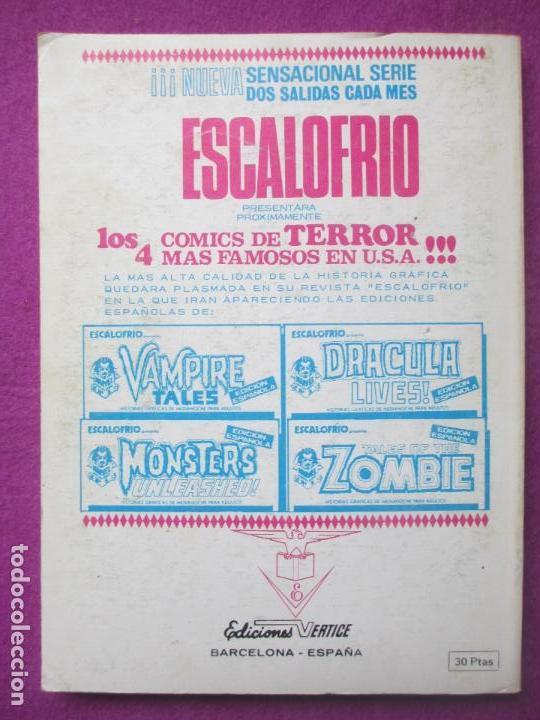 Cómics: TEBEO LOS 4 FANTASTICOS, Nº59, UNIDOS.. O MUERTOS, 1973, VERTICE - Foto 2 - 104781967