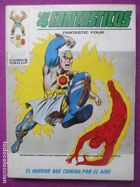TEBEO LOS 4 FANTASTICOS, Nº60, EL HORROR QUE CAMINA POR EL AIRE, 1973, VERTICE (Tebeos y Comics - Vértice - 4 Fantásticos)
