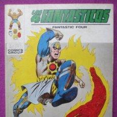 Cómics: TEBEO LOS 4 FANTASTICOS, Nº60, EL HORROR QUE CAMINA POR EL AIRE, 1973, VERTICE. Lote 104782135