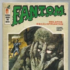 Cómics: FANTOM 5, 1972, VERTICE, BUEN ESTADO. Lote 104847647