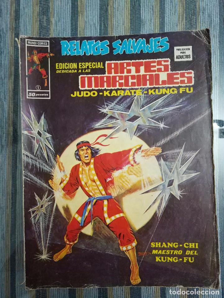 RELATOS SALVAJES ARTES MARCIALES VOL. 1 (COMPLETA) - LOPEZ ESPI, NEAL ADAMS, DITKO (VERTICE 1973) (Tebeos y Comics - Vértice - Relatos Salvajes)