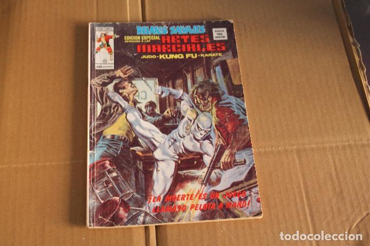 RELATOS SALVAJES ARTES MARCIALES Nº 23, VOLUMEN 1, EDITORIAL VÉRTICE (Tebeos y Comics - Vértice - Relatos Salvajes)
