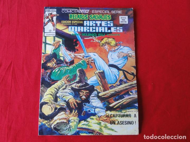 RELATOS SALVAJES ARTES MARCIALES Nº 41. VERTICE. C-22 (Tebeos y Comics - Vértice - Relatos Salvajes)
