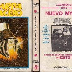 Cómics: VERTICE ZARPA DE ACERO ESPECIAL 3. Lote 105716227