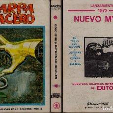 Cómics: VERTICE ZARPA DE ACERO ESPECIAL 4. Lote 105719143