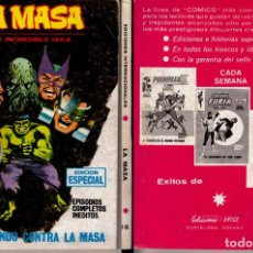 Cómics: VERTICE LA MASA 18. Lote 105723463