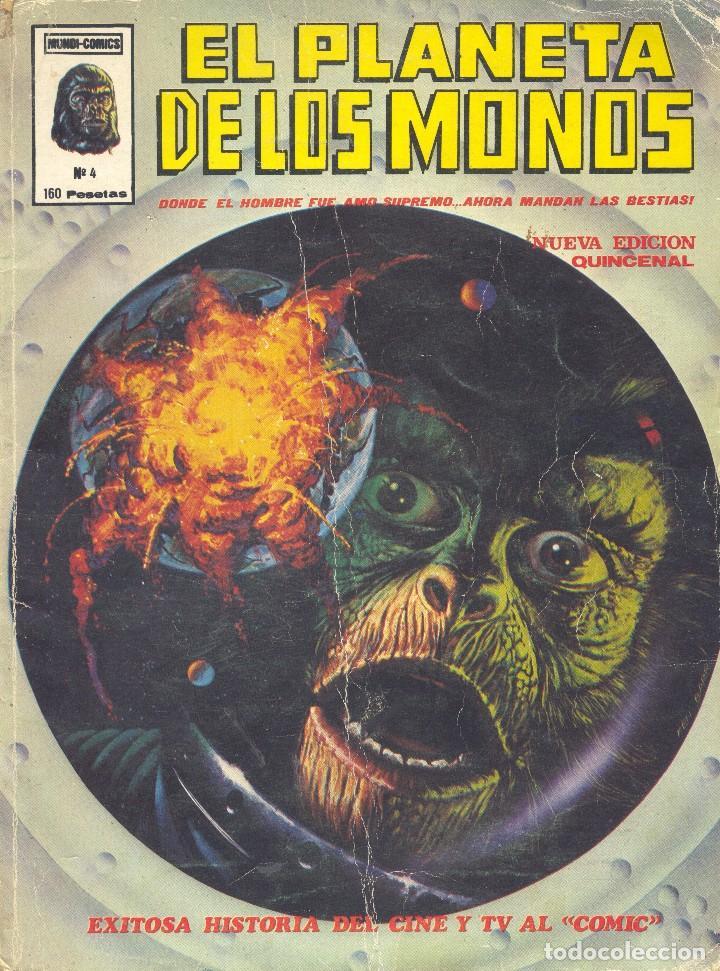 PLANETA DE LOS MONOS Nº4. EDITORIAL VÉRTICE, 1979 (Tebeos y Comics - Vértice - Relatos Salvajes)