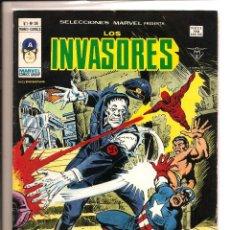 Cómics: COMIC - LOS INVASORES - CAPITÁN AMÉRICA - VERTICE MUNDI COMICS - VOL 1 Nº 39 - B/N ABRIL 1979 38 P. Lote 105984595