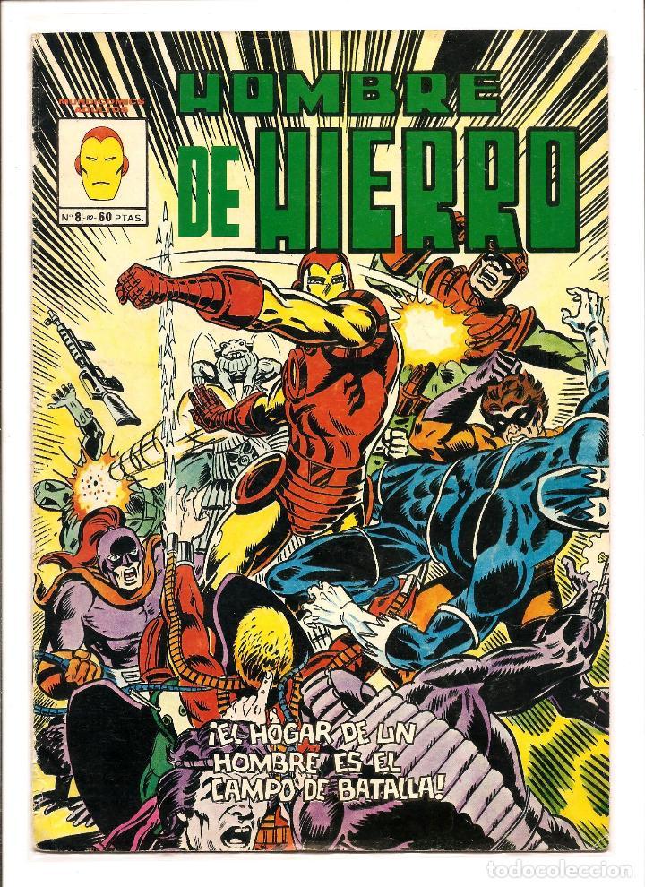 COMIC - EL HOMBRE DE HIERRO - VERTICE MUNDI COMICS - Nº 8 - COLOR NOVIEMBRE 1982 18 P (Tebeos y Comics - Vértice - Hombre de Hierro)