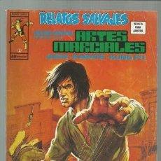 Cómics: RELATOS SALVAJES: ARTES MARCIALES 2, 1975, VERTICE, MUY BUEN ESTADO. Lote 106035519
