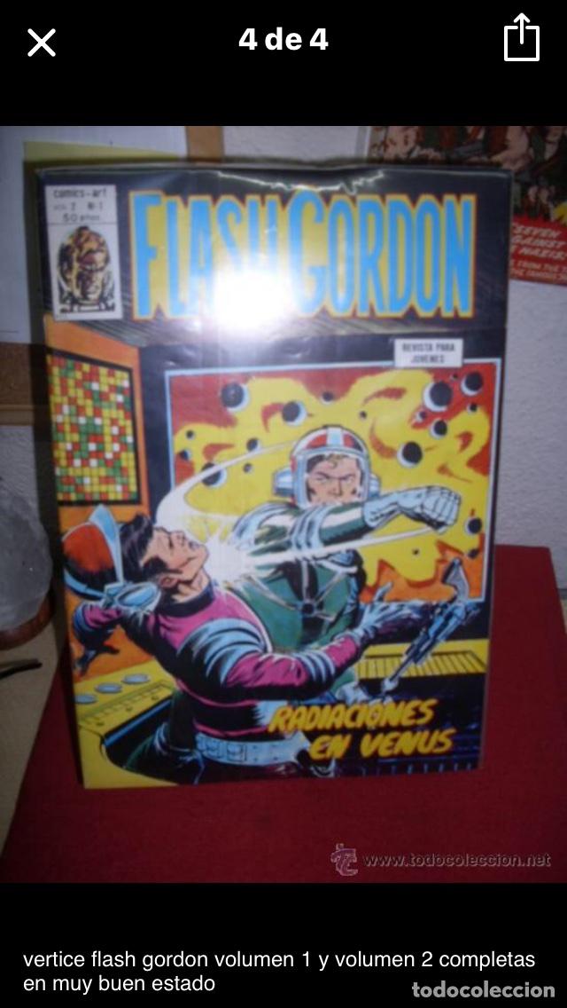Cómics: Flash gordon v.1 (vertice completa) - Foto 2 - 106053603