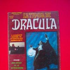Cómics: ESCALOFRÍO PRESENTA: LA TUMBA DE DRÁCULA - VOL. VOLUMEN V. 1 Nº 2 - VERTICE 1980. Lote 106146079