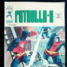 Cómics: PATRULLA X - V 3 - N 10 - CONTRA DOMINUS Y LUCIFER - AÑO 1976 - MUNDI COMICS-ED VERTICE. Lote 106559315