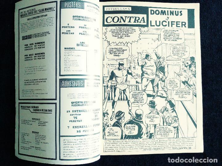 Cómics: PATRULLA X - V 3 - N 10 - CONTRA DOMINUS Y LUCIFER - AÑO 1976 - MUNDI COMICS-ED VERTICE - Foto 3 - 106559315