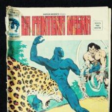 Cómics: LA PANTERA NEGRA - V 2 - N 34 - EL FUROR DE LA PANTERA - AÑO 1975 - MUNDI COMICS-ED VERTICE. Lote 106560127