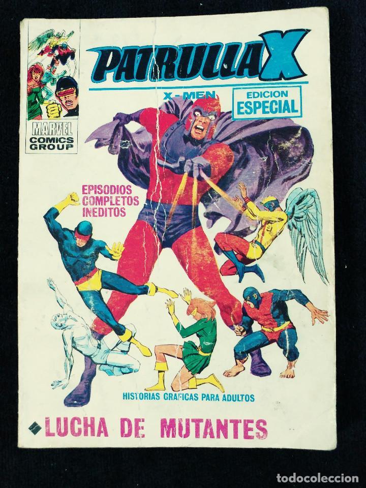 PATRULLA X - N 25 - LUCHA DE MUTANTES - AÑO 1974 -TACO - ED VERTICE (Tebeos y Comics - Vértice - Patrulla X)