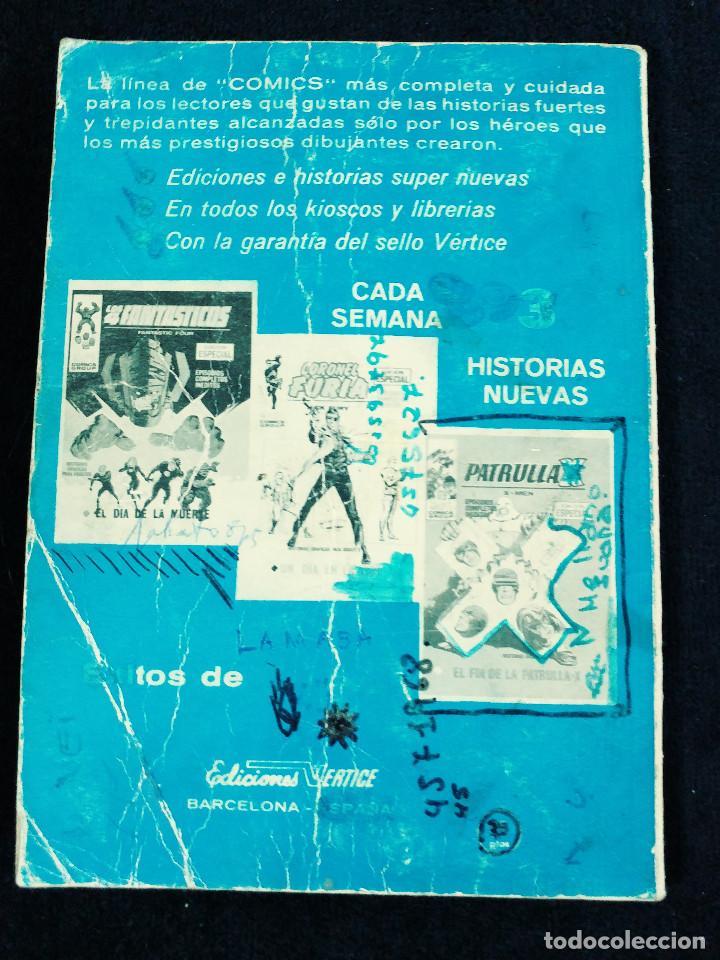 Cómics: PATRULLA X - N 25 - LUCHA DE MUTANTES - AÑO 1974 -TACO - ED VERTICE - Foto 2 - 106589463