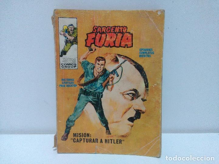SARGENTO FURIA, MISIÓN: CAPTURAR A HITLER, Nº 5 (Tebeos y Comics - Vértice - Furia)