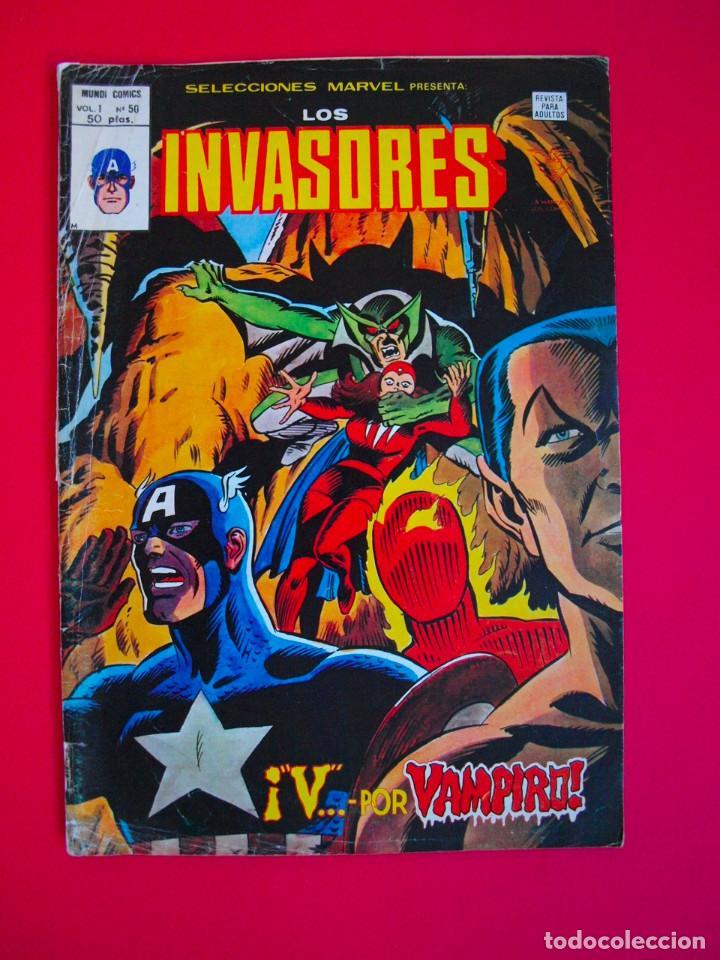 SELECCIONES MARVEL PRESENTA: LOS INVASORES - VOL. VOLUMEN V. 1 Nº 50 - VERTICE 1980 (Tebeos y Comics - Vértice - Otros)