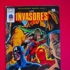 Cómics: SELECCIONES MARVEL PRESENTA: LOS INVASORES - VOL. VOLUMEN V. 1 Nº 50 - VERTICE 1980. Lote 106926779