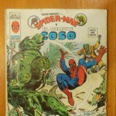 Cómics: COMIC - SPIDER-MAN Y EL HOMBRE COSA - MUNDI COMICS MARVEL - V.2 Nº 38 SUPER HEROES - VERTICE. Lote 107295879