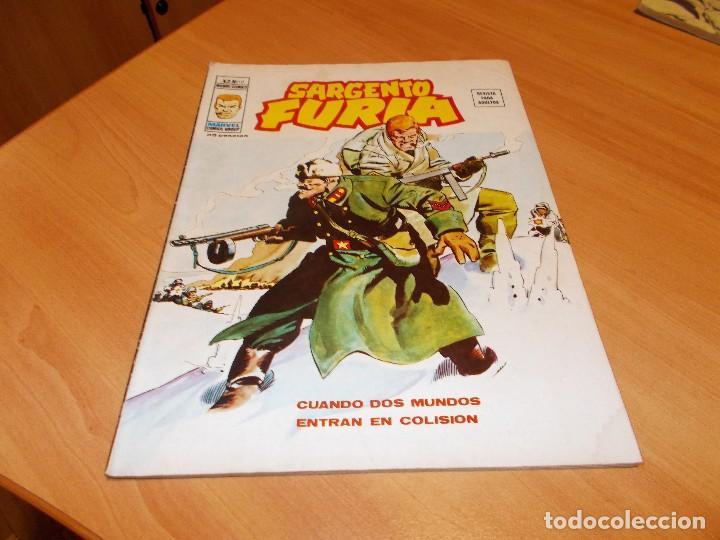 SARGENTO FURIA V.2 Nº 10 (Tebeos y Comics - Vértice - Furia)