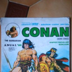 Cómics: CONAN THE BARBARIAN ANUAL 80 NÚMERO 1 VÉRTICE 1978. Lote 107836076