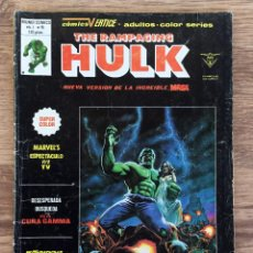 Comics : THE RAMPAGING HULK NUMERO 15 COMICS VERTICE MUNDI COMICS. Lote 107901791