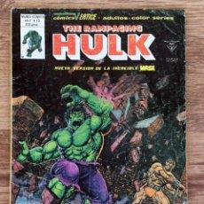 Comics : THE RAMPAGING HULK NUMERO 13 COMICS VERTICE MUNDI COMICS. Lote 107902031
