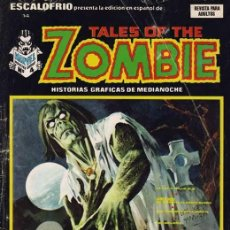 Cómics: ESCALOFRIO VOL.1 Nº 14 - VÉRTICE. TALES OF THE ZOMBIE Nº 4.. Lote 107923535