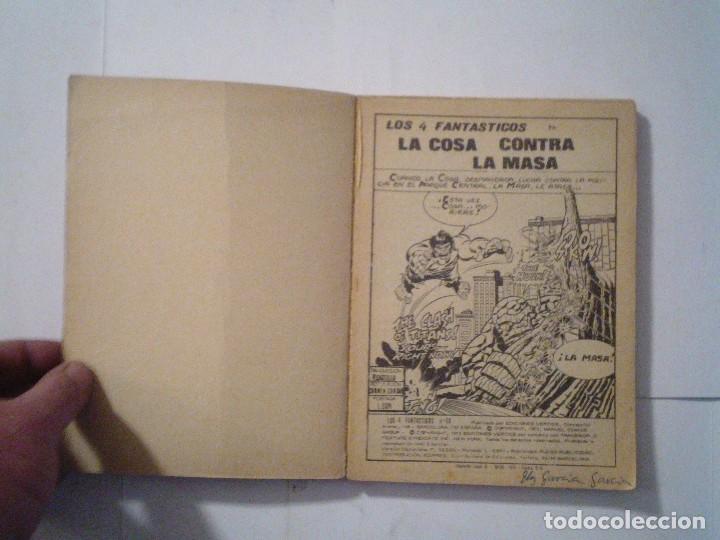 Cómics: LOS 4 FANTASTICOS - VERTICE - VOLUMEN 1 - NUMERO 56 - CJ 107 - gorbaud - Foto 2 - 107934179