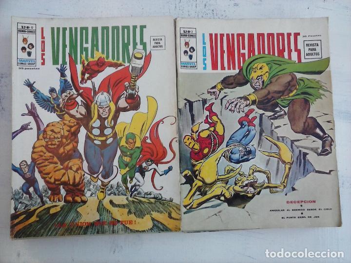 Cómics: LOS VENGADORES V 2 - 27 NºS -1,2,3,4,5,6,7,8,9,10,11,12,13,14,15,16,19,20,21,22,23,24,25,26,47,48,50 - Foto 3 - 107938947