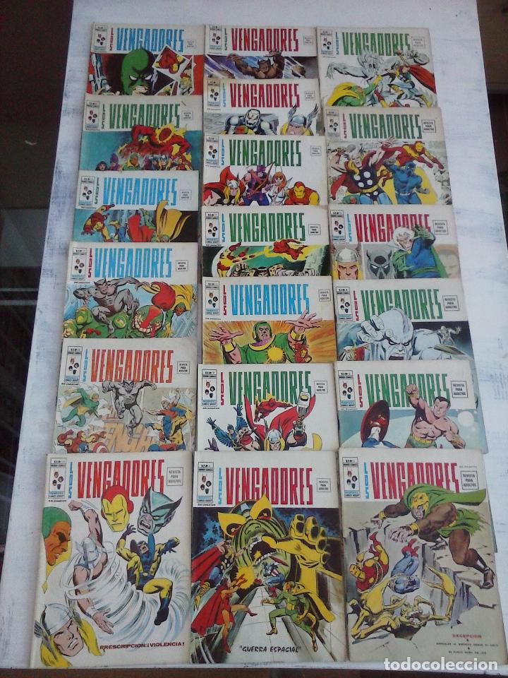 Cómics: LOS VENGADORES V 2 - 27 NºS -1,2,3,4,5,6,7,8,9,10,11,12,13,14,15,16,19,20,21,22,23,24,25,26,47,48,50 - Foto 4 - 107938947