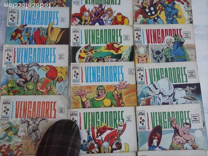 Cómics: LOS VENGADORES V 2 - 27 NºS -1,2,3,4,5,6,7,8,9,10,11,12,13,14,15,16,19,20,21,22,23,24,25,26,47,48,50 - Foto 7 - 107938947