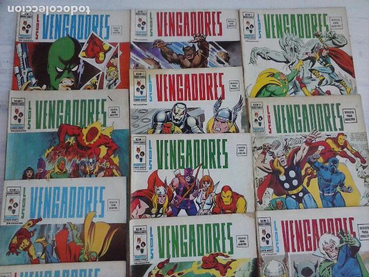 Cómics: LOS VENGADORES V 2 - 27 NºS -1,2,3,4,5,6,7,8,9,10,11,12,13,14,15,16,19,20,21,22,23,24,25,26,47,48,50 - Foto 8 - 107938947