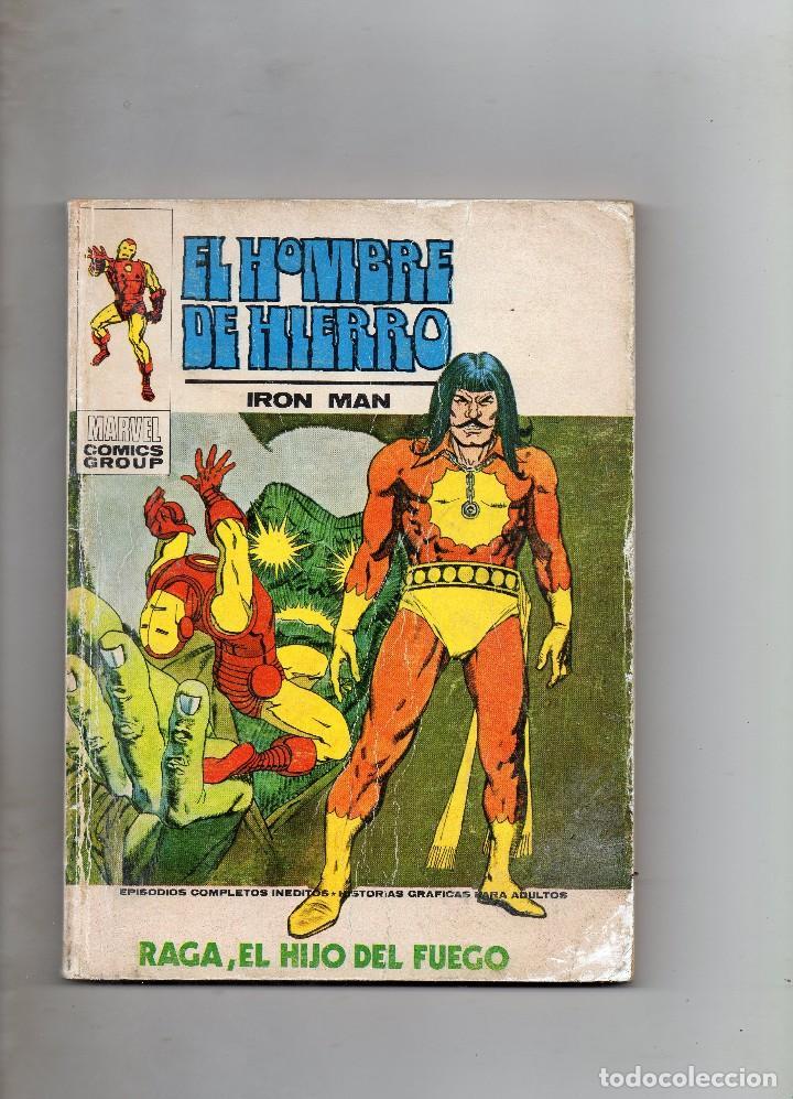 COMIC VERTICE EL HOMBRE DE HIERRO VOL1 Nº 27 (NORMAL ESTADO) (Tebeos y Comics - Vértice - V.1)