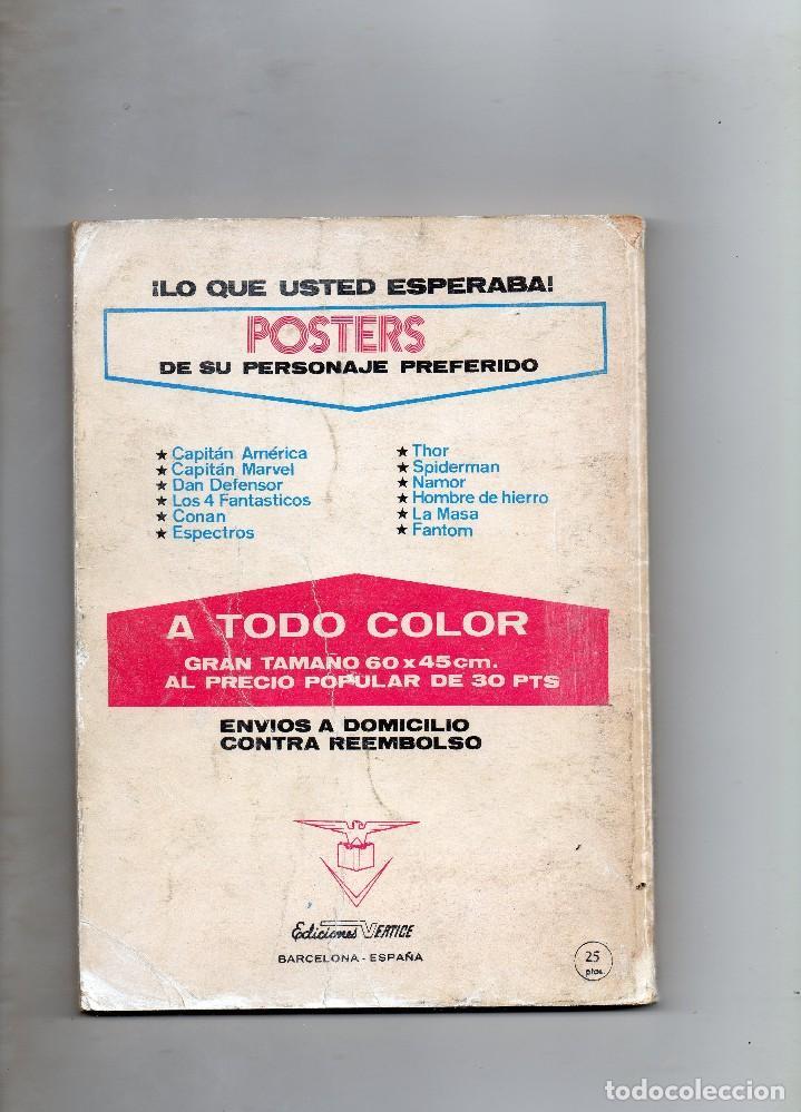 Cómics: COMIC VERTICE EL HOMBRE DE HIERRO VOL1 Nº 27 (NORMAL ESTADO) - Foto 2 - 108082103
