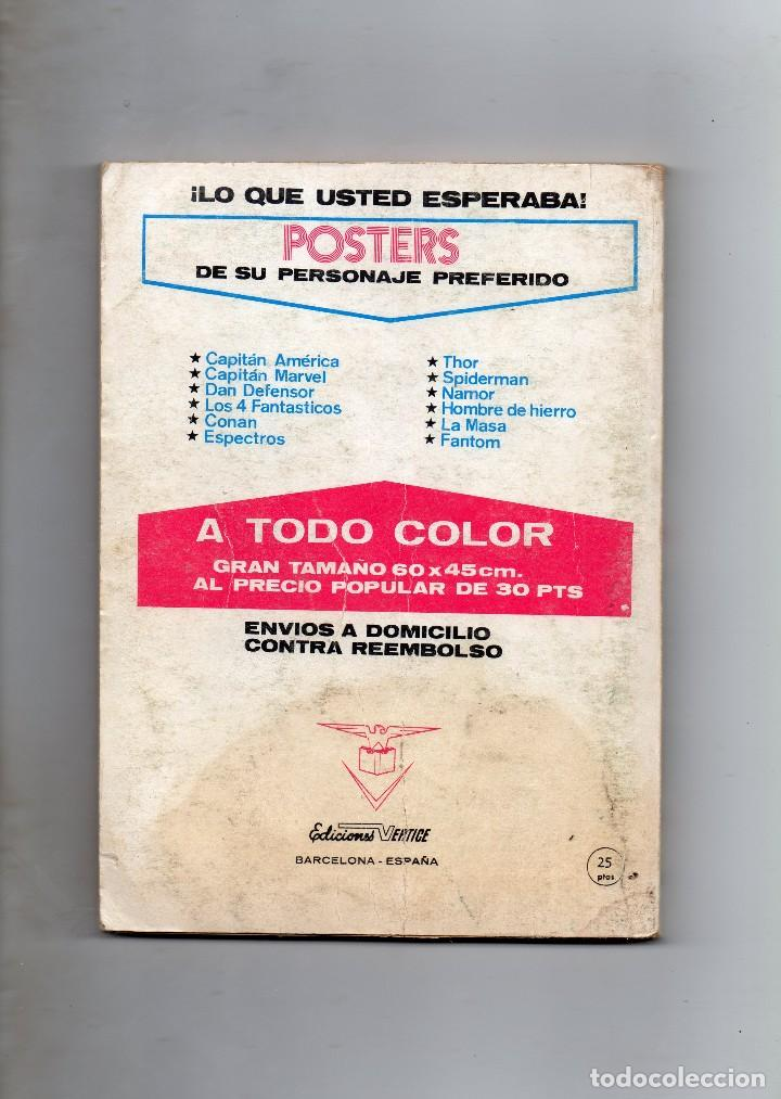 Cómics: COMIC VERTICE EL HOMBRE DE HIERRO VOL1 Nº26 ( NORMAL ESTADO ) - Foto 2 - 108257823