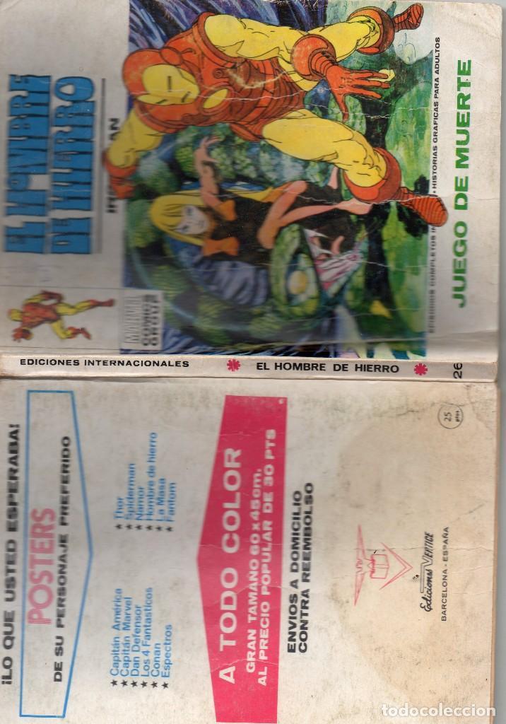 Cómics: COMIC VERTICE EL HOMBRE DE HIERRO VOL1 Nº26 ( NORMAL ESTADO ) - Foto 3 - 108257823