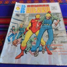 Cómics: VÉRTICE VOL. 2 EL HOMBRE DE HIERRO Nº 4. 1974 30 PTS. CONFRONTACIÓN. . Lote 108445471